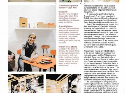 top three designers at maison et objet asia / monocle / mar 2014