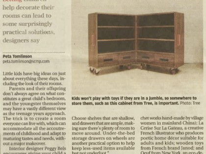 when kids have design on their own living space / scmp / oct 2012