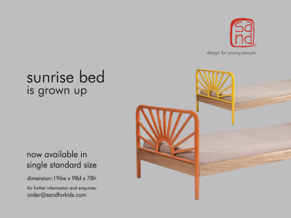 sunrise bed is grown up / 2015