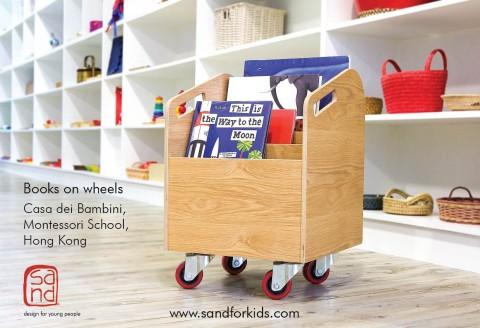 sand_books on wheels