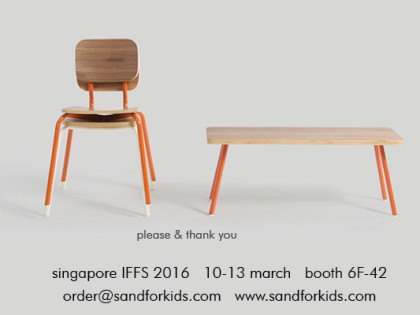 sand invites you to singapore IFFS 2016